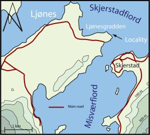 Ljønesmap